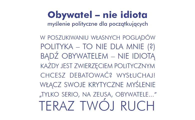 Obywatel NIE idiota